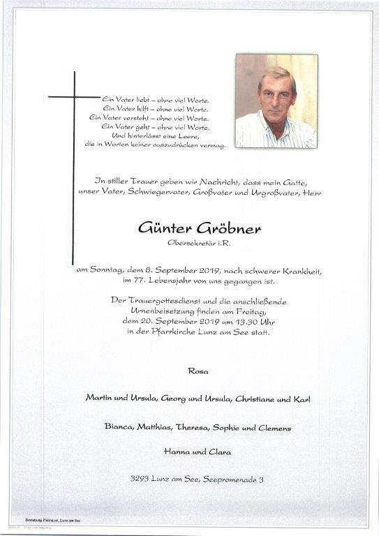 Günter Gröbner