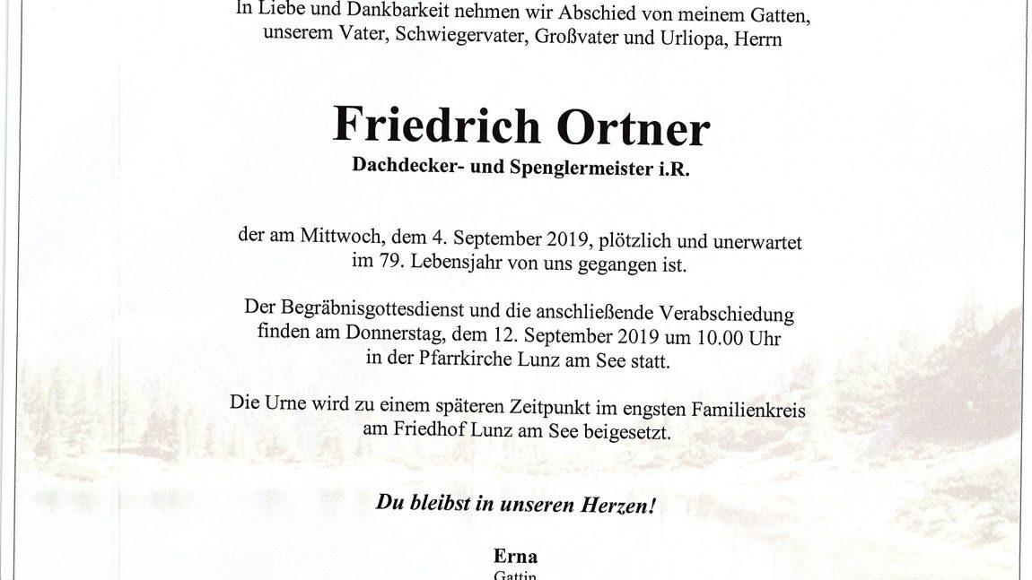 Friedrich Ortner