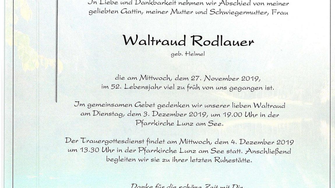 Waltraud Rodlauer