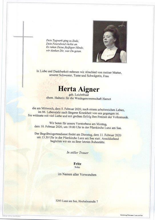 Herta Aigner