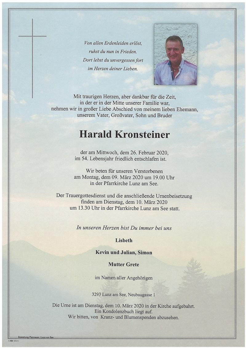 Harald Kronsteiner