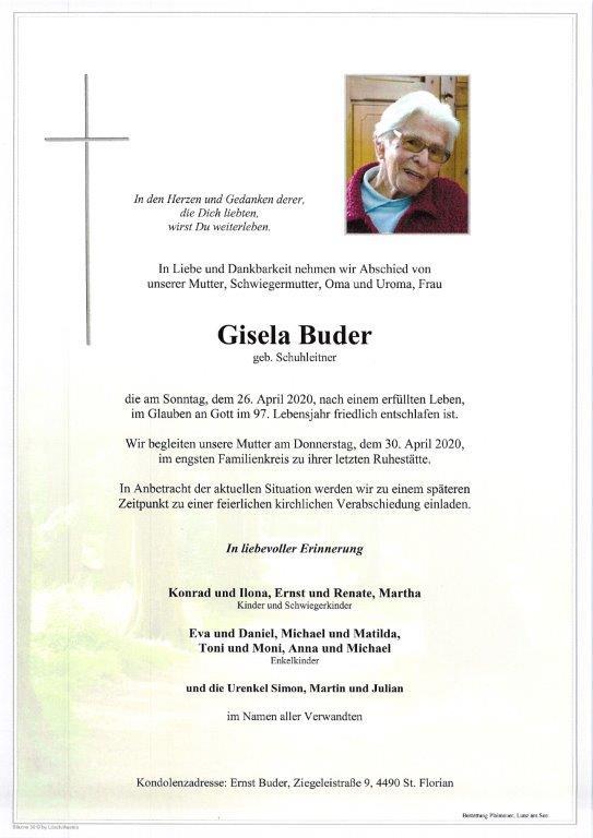 Gisela Buder