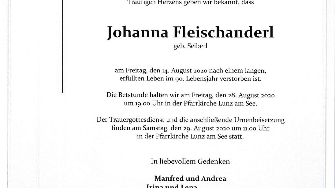 Johanna Fleischanderl