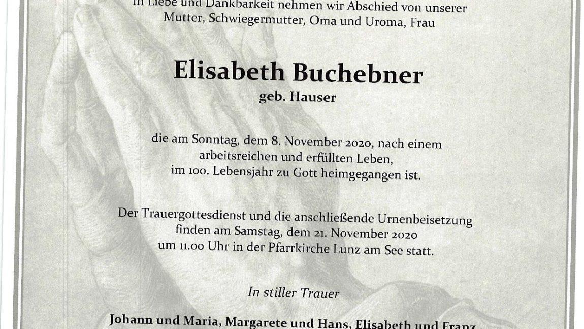 Elisabeth Buchebner