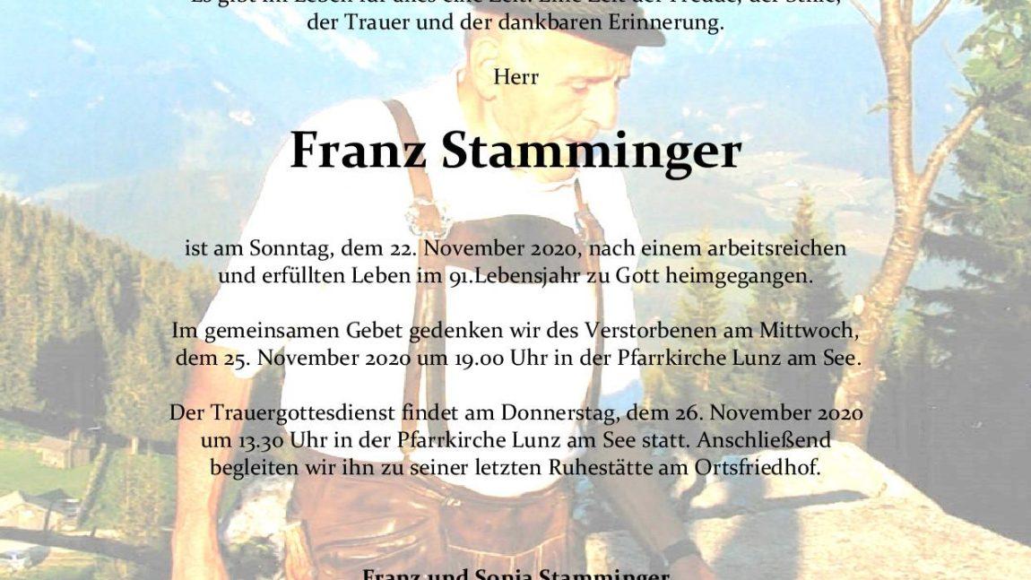 Franz Stamminger