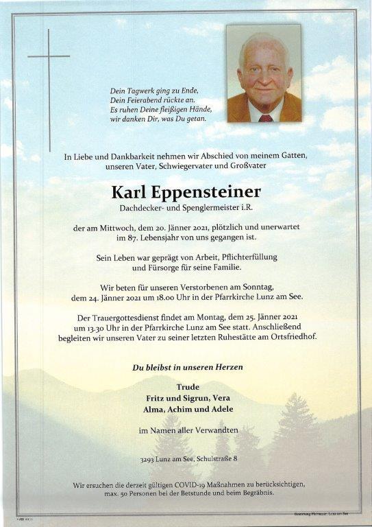 Karl Eppensteiner