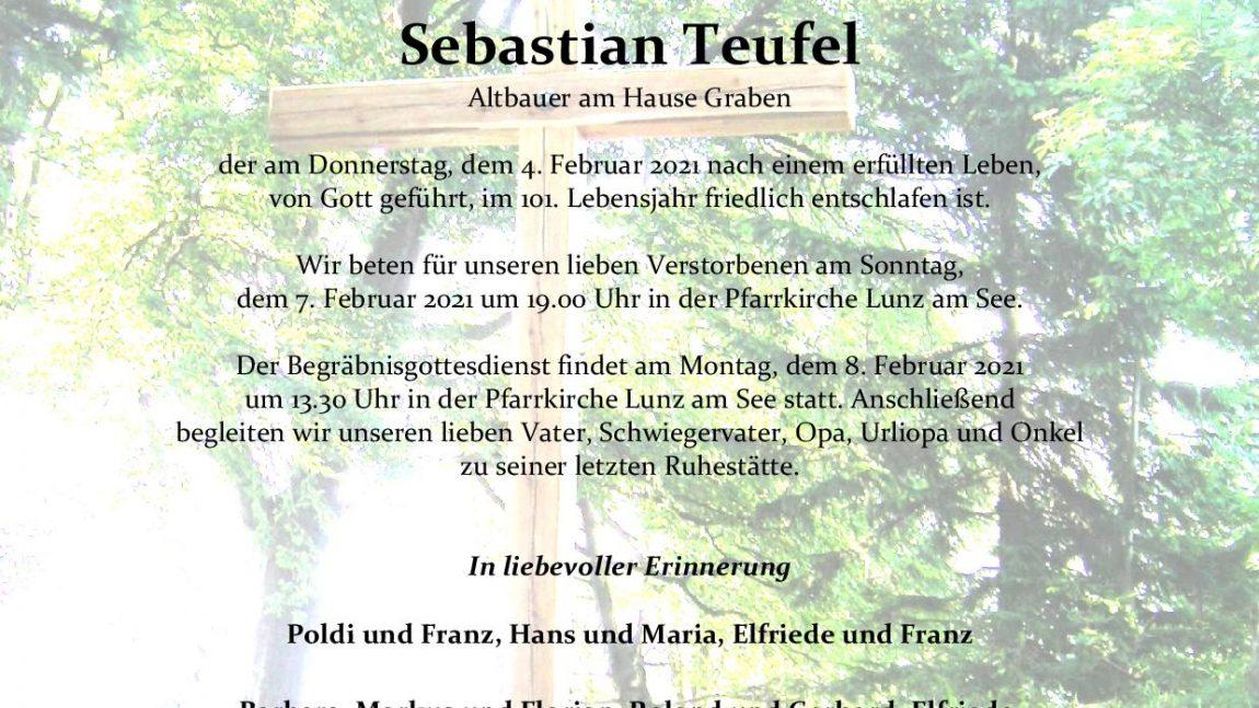 Sebastian Teufel