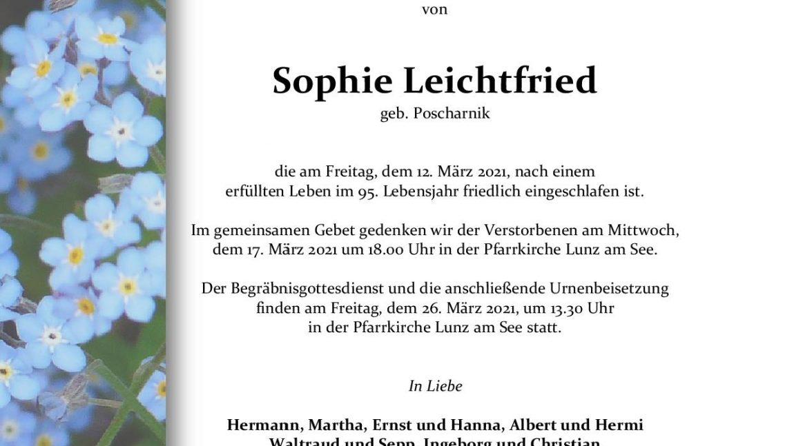 Sophie Leichtfried