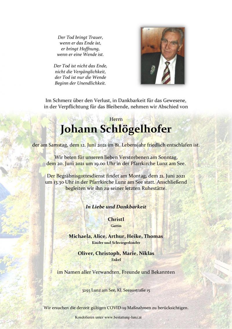 Johann Schlögelhofer